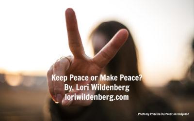 Keep Peace or Make Peace