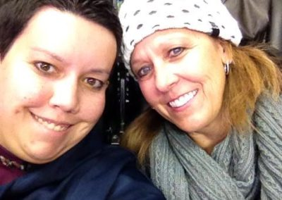 Lori and courtney at AVS