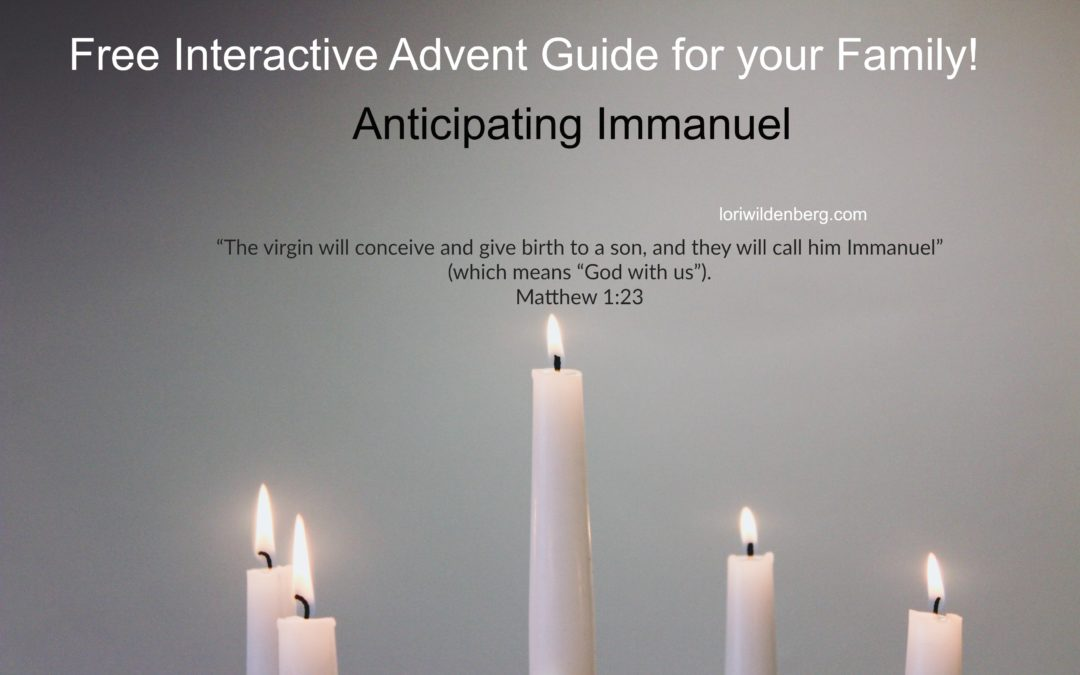 Free Interactive Advent Guide for Your Family!